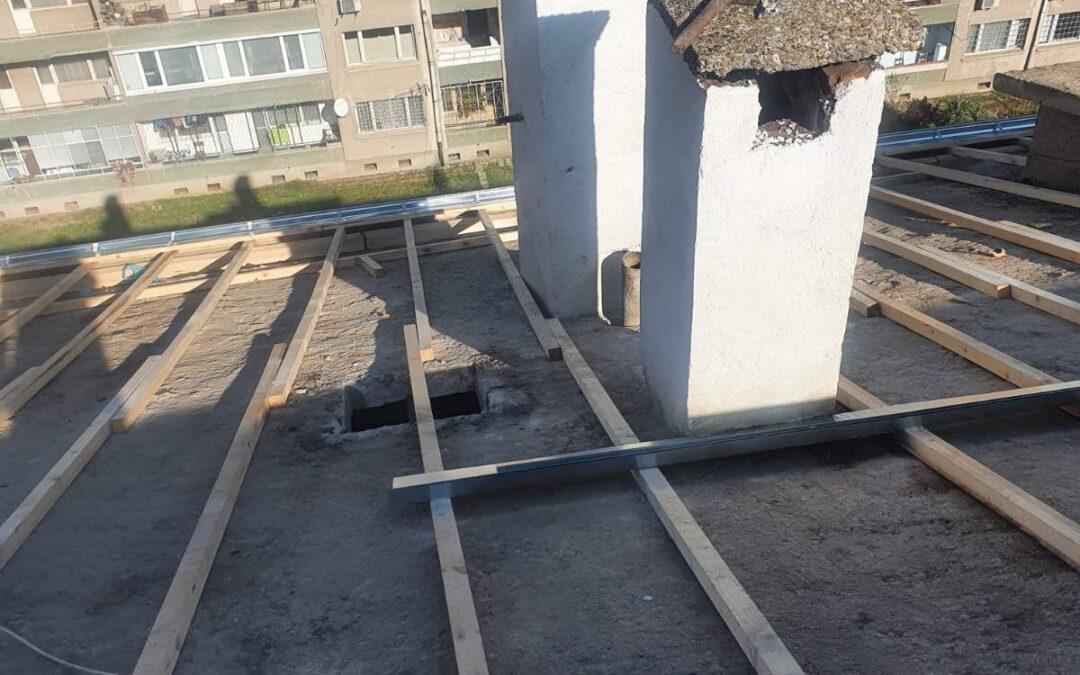 Хидроизолация на скатни и плоски покриви – материали и технологии